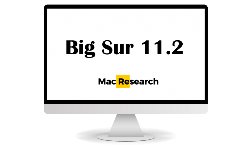 how to install big sur 11.2 mac
