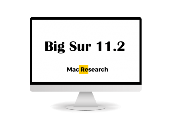 Big Sur 11.2 beta on Mac