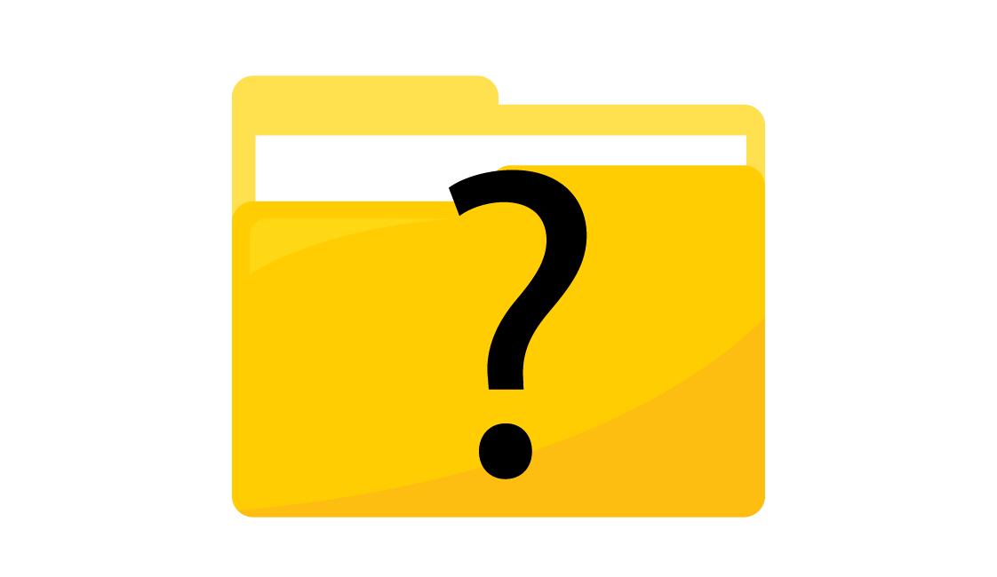 Mac question mark folder