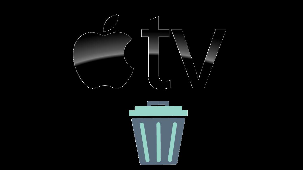 How to delete app on Apple TV