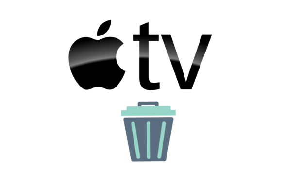 delete app on apple tv how to