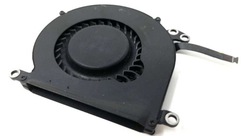 picture of fan part from apple macbook